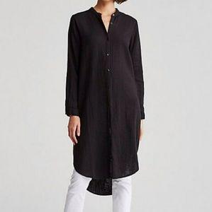 Eileen Fisher Org. Cotton Gauze Shirt Dress/Tunic